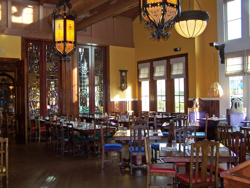 Lynnwood Old Spaghetti Factory interior