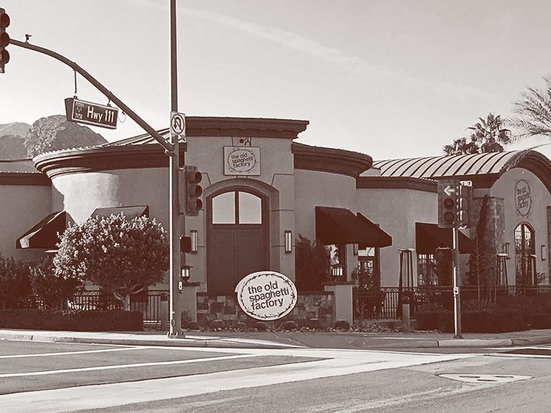 Rancho Mirage Old Spaghetti Factory exterior