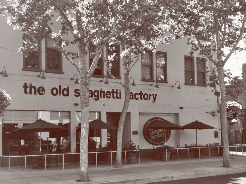 San Jose Old Spaghetti Factory Exterior