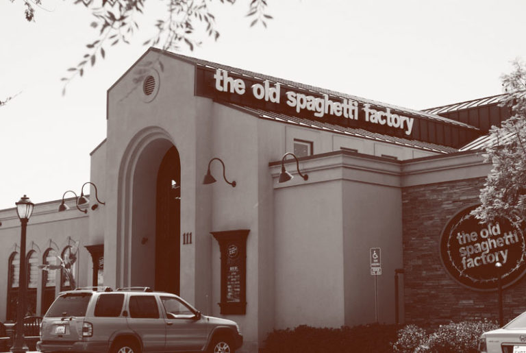 San Marcos Old Spaghetti Factory exterior