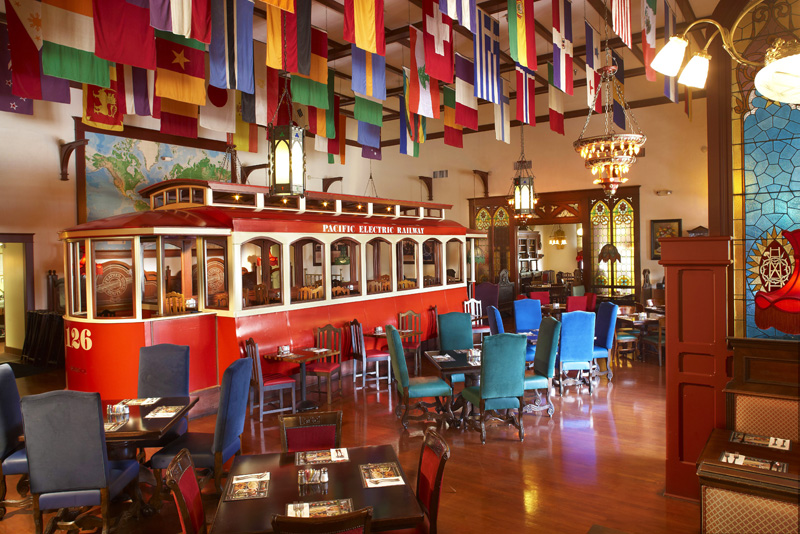 Duarte Old Spaghetti Factory trolley