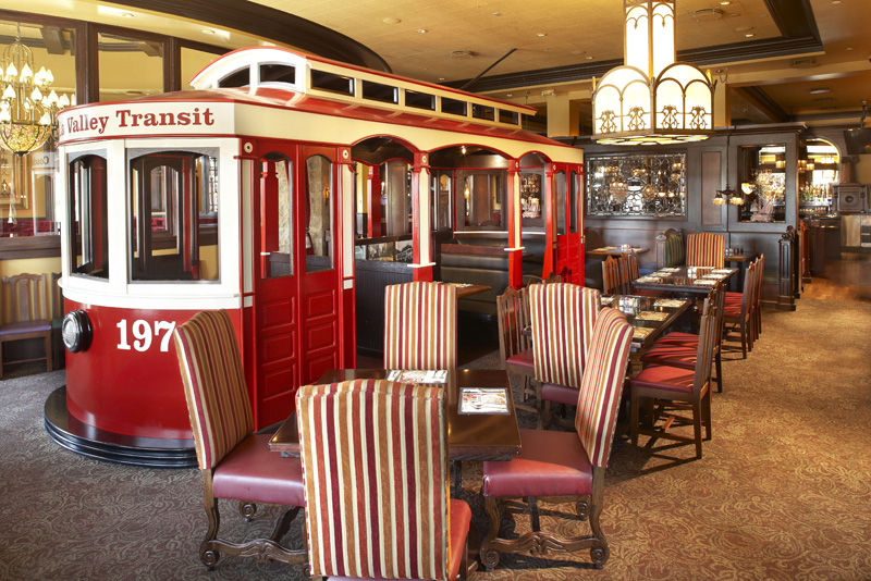 Rancho Mirage Old Spaghetti Factory trolley