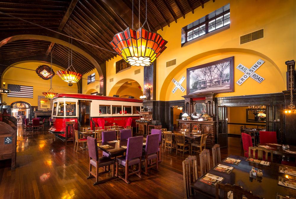 Sacramento Old Spaghetti Factory Trolley