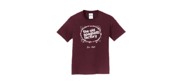 The Old Spaghetti Factory t-shirt