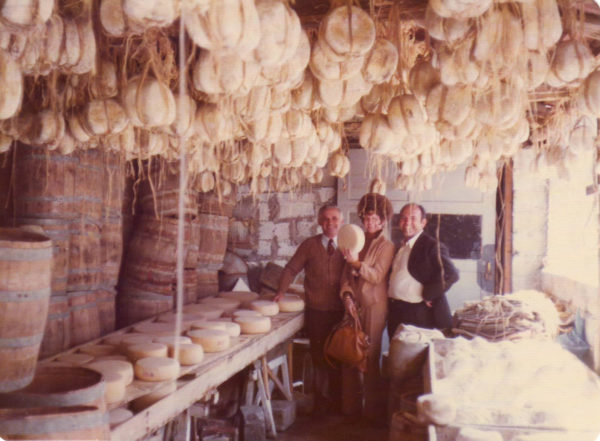 The Old Spaghetti Factory founders in mizithra warehouse