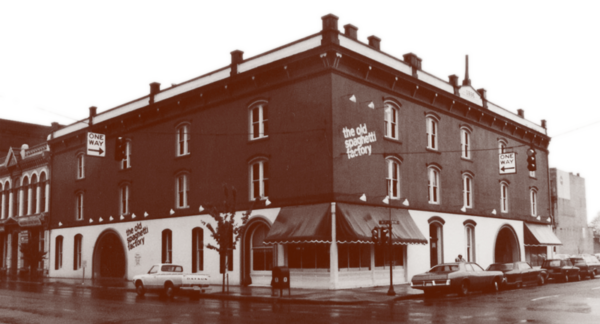 Original Old Spaghetti Factory Location Building Exterior