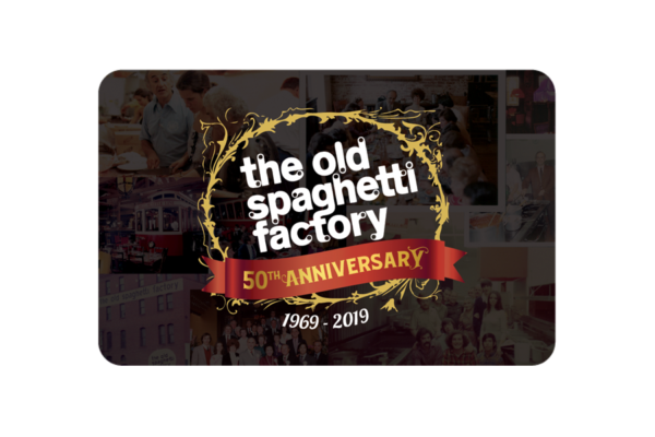 OSF 50th Anniversary Gift Card